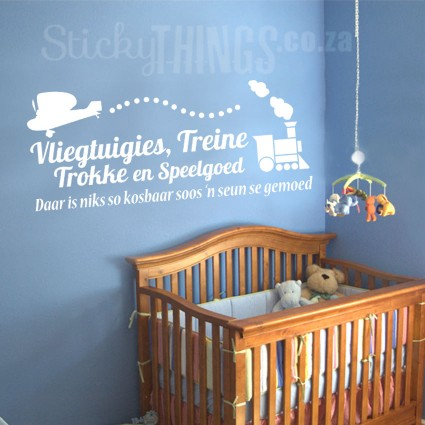 nursery wall stickers stickythings wall stickers south