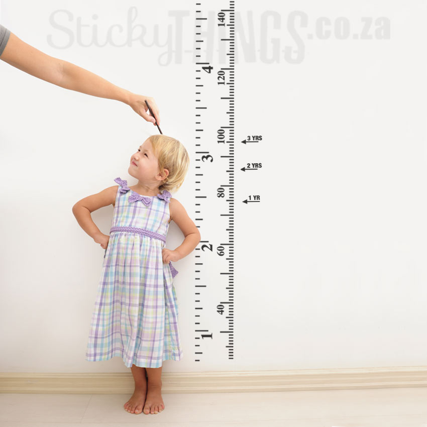 Growth Chart Wall Art Stickythings