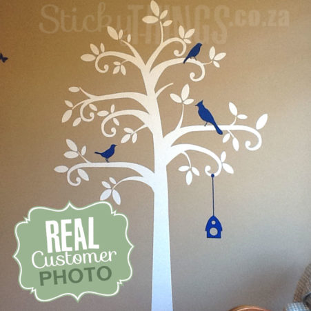 Nursery Tree Vinyl Decal