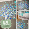 Blowing Cherry Tree Decal