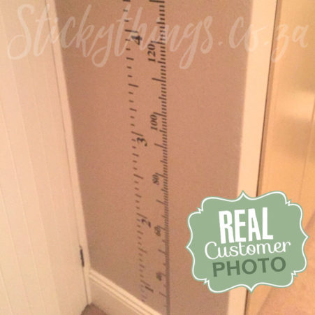 Customer photo of the Growth Chart Vinyl