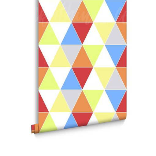 Roll of Harlequin Brights Triangle Wallpaper