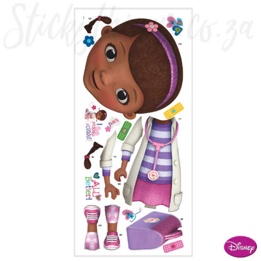 Giant Doc McStuffins Wall Decal