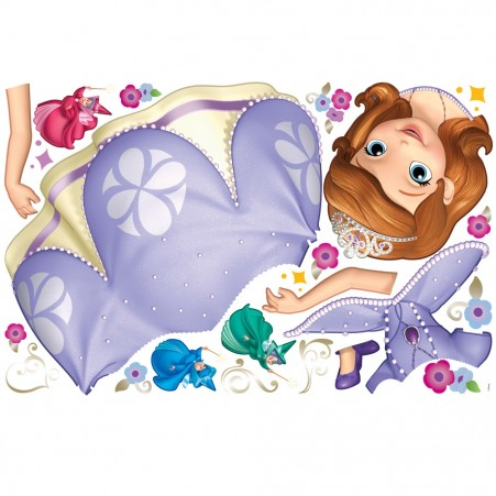 Sofia the First Giant Wall Decal Sheet
