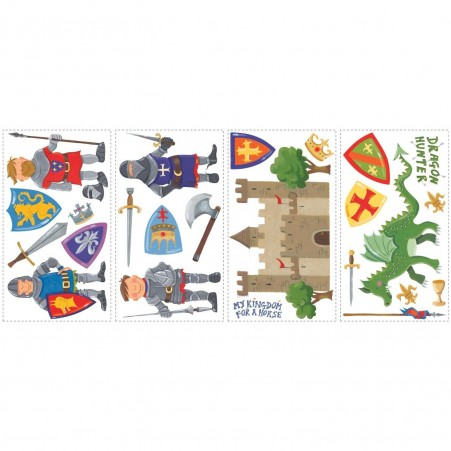 Sheets of the Dragon Hunter Wall Stickers