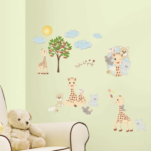 Nursery with Sophie the Giraffe Wall Art