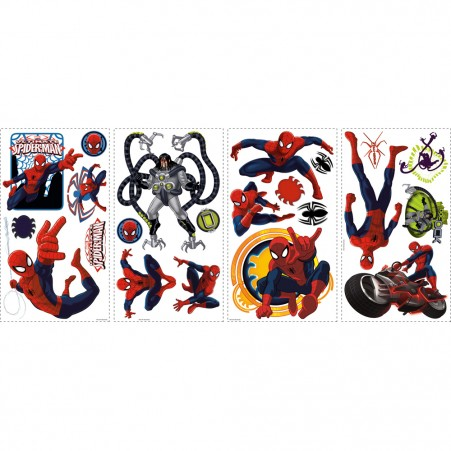Spiderman Decals Sheets