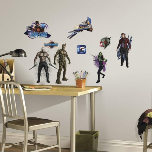 Guardians of the Galaxy Wall Stickers in a Boys Room