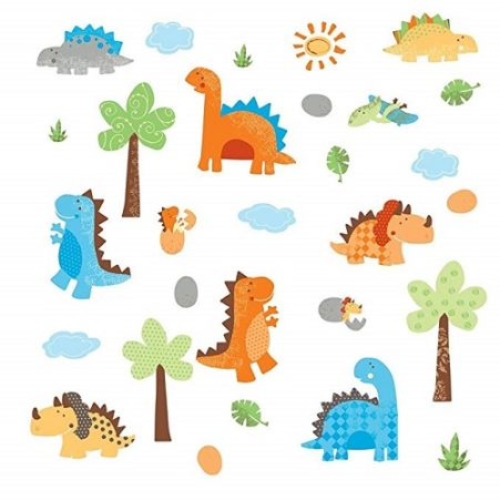 All 42 of the Baby Dinosaur Decals