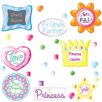 All of the Girls Frames Wall Art Stickers