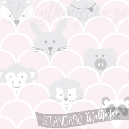 Close up of the Cute Panda Lion Bunny Wallpaper