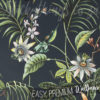 Passion Flower Leaves Wallpaper on a wall